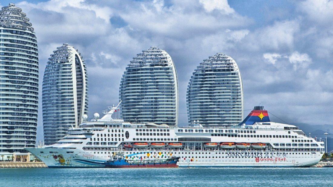 Hafen von Hainan, China